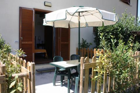 Terras appartement Alloro