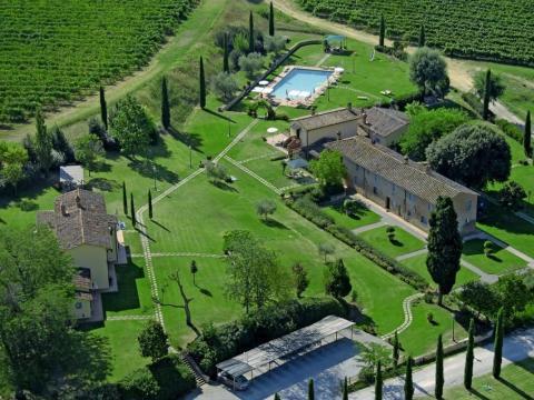 Schöner Agriturismo mit Apartments Montepulciano | Tritt-toskana.de