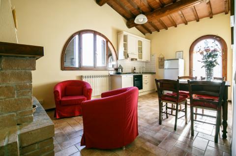 Wohnbereich Wohnung Ginestre