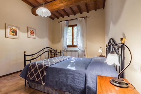 Schlafzimmer Wohnung Piscina