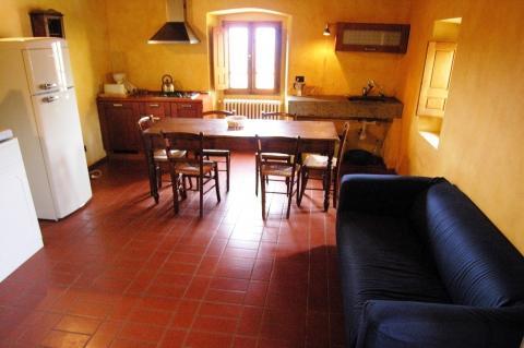 Wohnbereich Zwei-Zimmer-Wohnung Scarletta