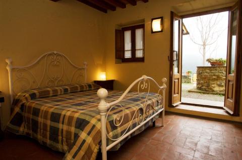 Schlafzimmer Drei-Zimmer-Wohnung Pozzo