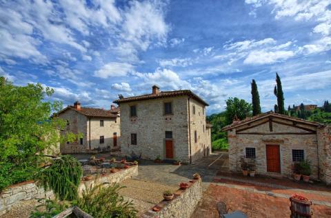 Vakantiewoningen Chianti Toscane