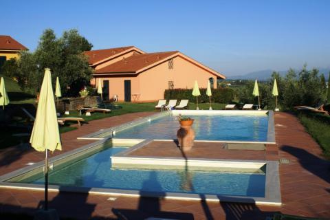 Agriturismo met kinderbad en speeltuin Toscane