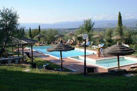 Vakantiewoning met dorp op loopafstand Toscane