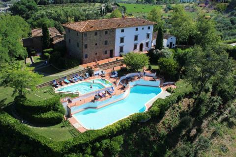 Vakantiehuizen nabij Florence Toscane