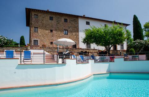 Vakantiehuizen met zwembad Florence