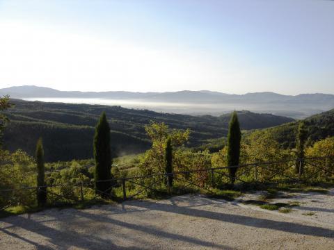 Wandelen en fietsen in Mugello Toscane