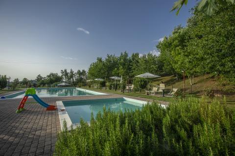Ferienwohnungen mit Pool bei Florenz