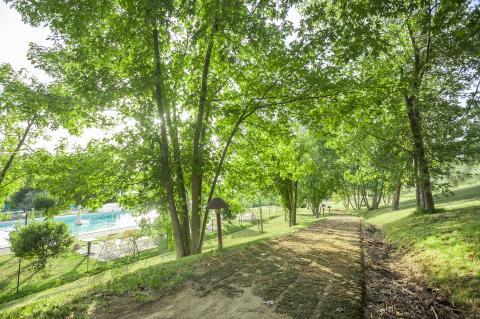 4 Sterne Ferienhaus mit Pool nahe Golfplatz: Casolare San Lorenzo in Florenz, Toskana | Tritt-toskana.de
