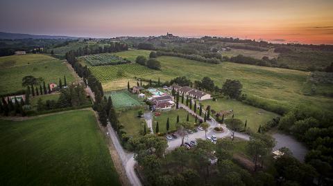 Ferienhaus mit Pool La Sorgente * * * nahe Golfplatz in der Toskana | Tritt-toskana.de