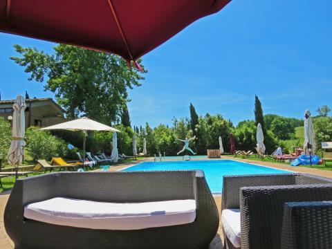 Ferienwohnung mit Pool in der Toskana