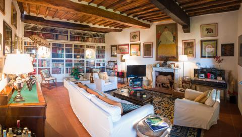 Luxe villa met zwembad Lucca