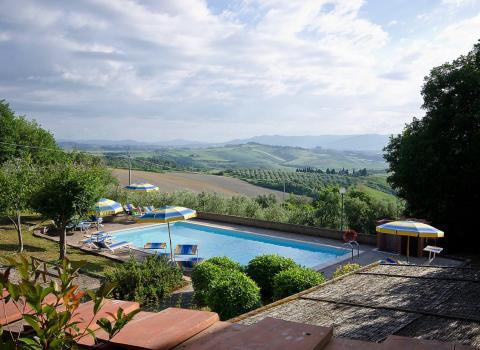 Agriturismo Casa di Marrico in Montaione, Toscane | Tritt.nl