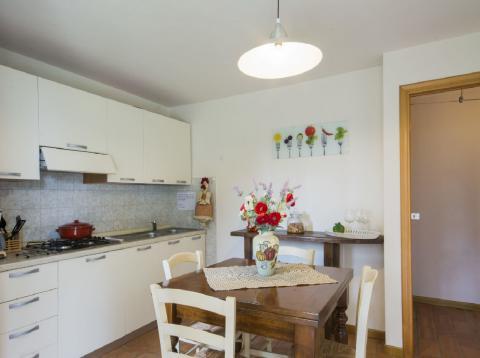 Vakantiehuis met appartementen Toscane