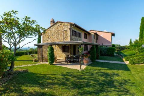 Vakantiehuis Florence Toscane voor 2 families