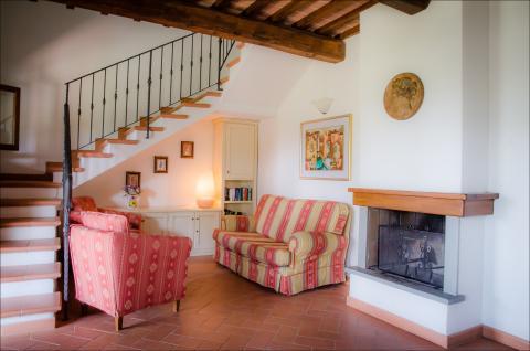Casa Montespertoli, Ferienhaus für 6 in der Toskana | Tritt-toskana.de