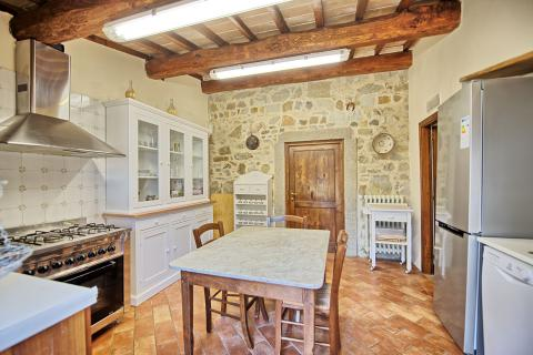 Grote vakantiewoning Toscane voor 4 families