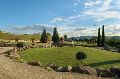 Ferienwohnung im Agriturismo mit Pool