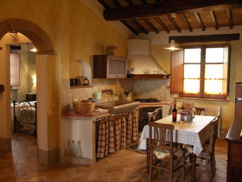 Vakantiehuis met 2 appartementen Toscane