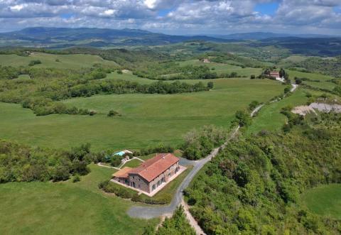 Villa met verwarmd zwembad Toscane kust