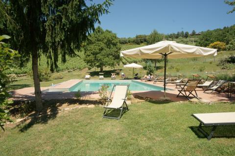Agriturismo Toscane - wijnboerderij