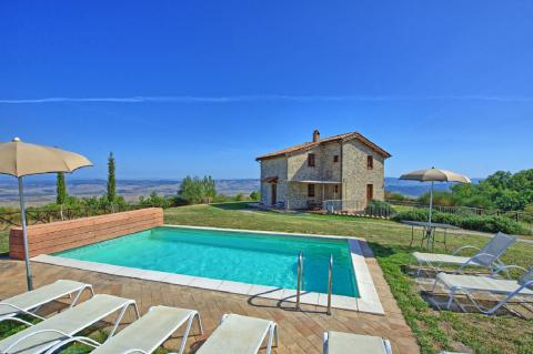 Vakantiehuis Val d'Orcia, Toscane