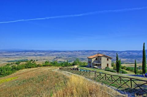 Vakantiehuis Toscane Val d'Orcia