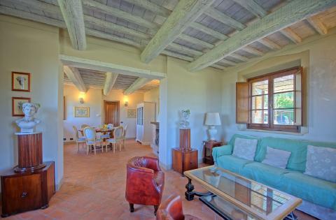 Vakantiehuis met zwembad panoramische ligging Siena | Tritt.nl