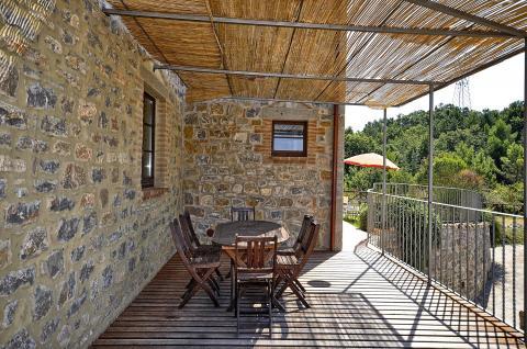 Ruim vakantiehuis met terras, Toscane