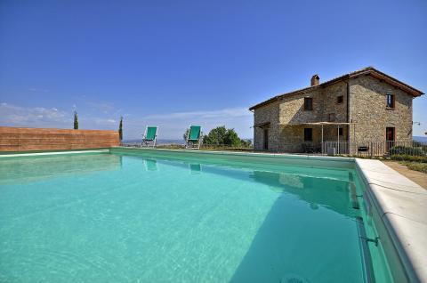 Vakantiehuis met privé zwembad Toscane
