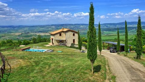 Vrijstaande vakantiewoning Toscane