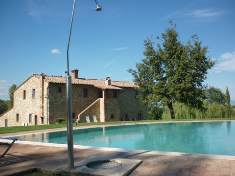Mooie villa bij Montepulciano met zwembad