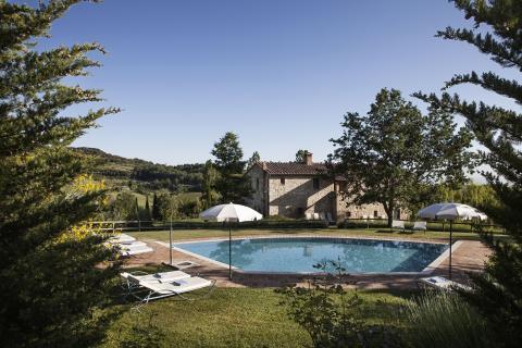 Mooie Toscaanse villa met zwembad
