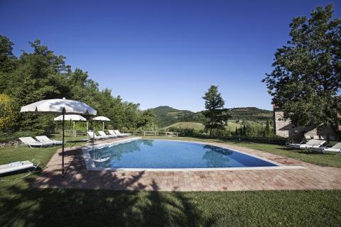 Prachtige ligging van deze Toscaanse villa