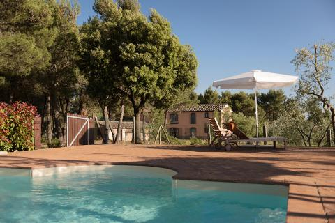 Podere Solane met zwembad in de natuur van de Maremma | Tritt.nl