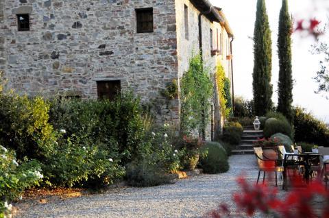 Bed en Breakfast met restaurant in Toscane, Italië