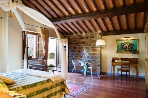 Bed en breakfast in Toscane, Italië