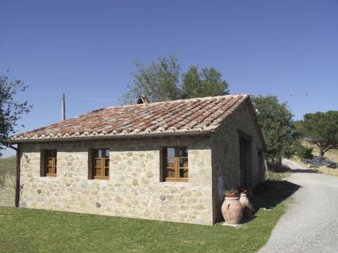 Alles gelijkvloers, stenen cottage / bungalow idee