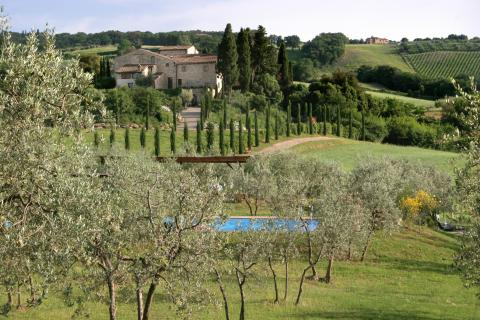 Villa Cabbiallina in Gambassi Terme, Toscane | Tritt.nl