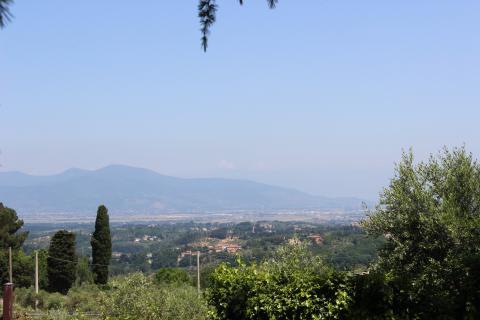 Villa Elide met panoramische ligging nabij Pisa - Tritt.nl