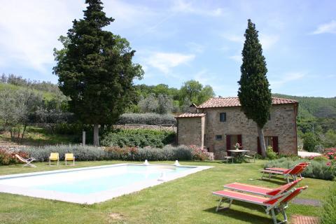Vakantiehuis met 5 slaapkamers Arezzo Toscane