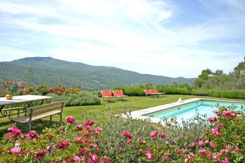 Villa voor 10 personen Arezzo Toscane