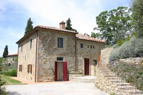 Vakantiehuis in Arezzo met privé zwembad.