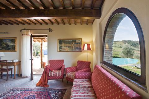 Vrijstaande vakantiewoning centraal Toscane
