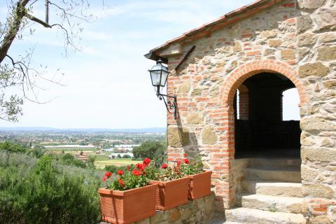 Toscaanse vakantiewoning nabij Arezzo.