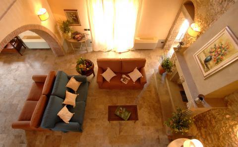 Wohnzimmer vom Mezzanin