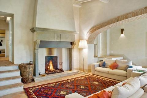 Luxe villa  met prachtige tuin en uitzicht in Siena | Tritt.nll