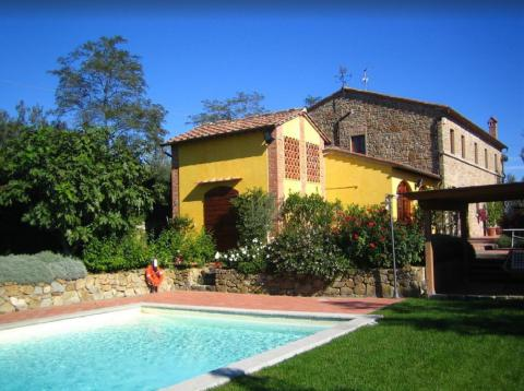 Villa vlakbij Florence en Vinci in Toscane