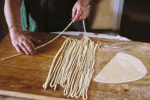 Zuid-Toscane's pastatrots: pici